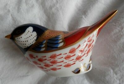 Royal Crown Derby Paperweight - Coal Tit