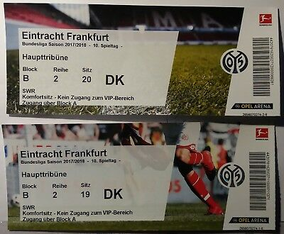 2 tickets bl spiel mainz 05 gegen eintracht frankfurt am sonntag eur 163 00. Black Bedroom Furniture Sets. Home Design Ideas