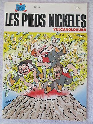 LES PIEDS NICKELES n°116 vulcanologues