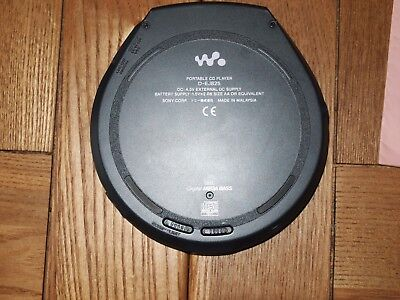 Sony  Walkman CD Player D-EJ825 Jog proof G-Protection