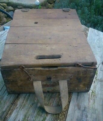 88mm GERMAN MILITARY AMMUNITION AMMO BOX