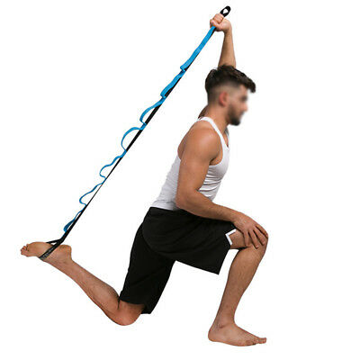 Yoga Resistance Bands Stretch Out Strap Fitness Family Outdoor Gym Workout