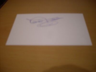 signed card of ex lincoln city wales goalkeeper david felgate