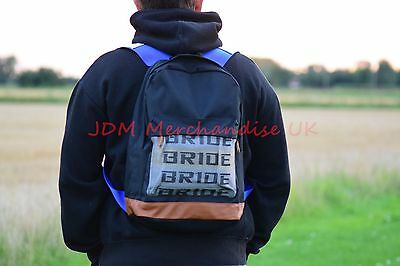 JDM BLUE Bride Style Harness Backpack bag UK STOCK High quality