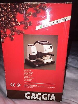 Gaggia Coffee Grinder