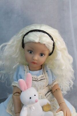 Dianna Effner Vinyl Doll by Aston Drake- Alice - Handcrafted by Eyes of TX Dolls