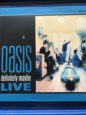 Oasis - Rare Vinyl Lp - Definitely Maybe Live Chicago 1994 Vinyl Lp