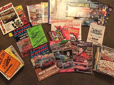 Collection Of Brisca F1 Programmes