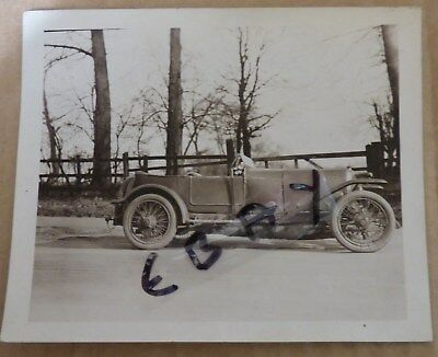 Rare Photograph First 3 Litre Bentley 1919 1920 Brooklands Experimental Chassis