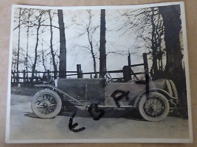 Photograph Rare First 3 Litre Bentley Brooklands 1919 1920  Experimental Chassis
