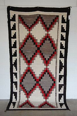 "Navajo Stepped  Large  97"" X 52"" ...look !"