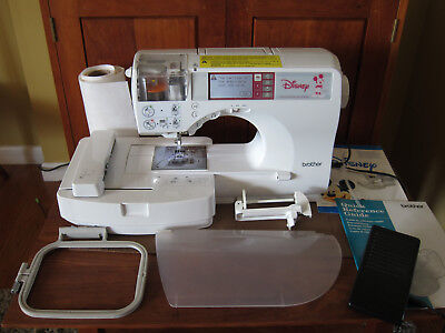 Brother Se 270d Computerized Sewing Machine Disney Embroidery