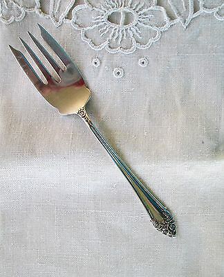 Vintage Reed and Barton sterling salad forks FRAGRANCE pattern