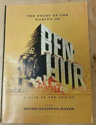 BEN HUR 1959 film program 36pp booklet Hollywood movie Charlton Heston brochure