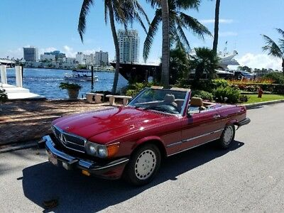 1986 Mercedes-Benz 500-Series Base Convertible 2-Door 1986 Mercedes-Benz 560SL Well Taken Care Of Classic, New Tires, Full Service