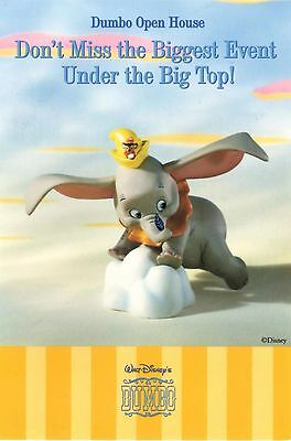 DISNEY - Dumbo - When I See an Elephant Fly - WDCC Postcard