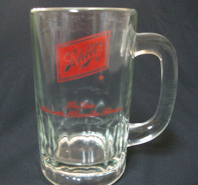 Schlitz Classic Glass Beer Mug Milwaukee Brewery Vintage Americana