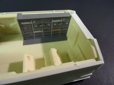 """Space1999 eagle transporter science pod interior for the 22"""" round 2 model kit"""