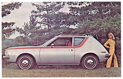 1971 AMC GREMLIN American Motors Original Promotional Vintage Postcard UNUSED ^