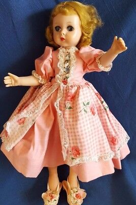 "Vtg Madame Alexander #1155(?) Lissy Doll 11.5"" Multi-Jointed Blonde 1956-58"
