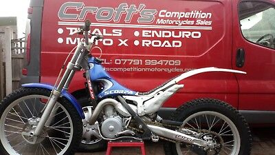 2002 scorpa sy 250 trials bike px poss trials motocross enduro road delivery