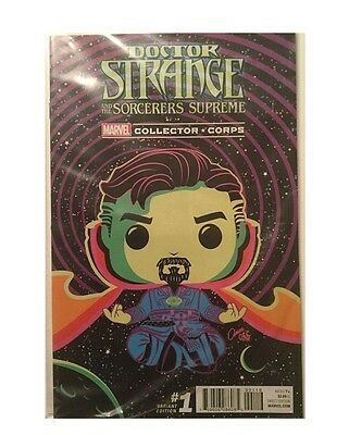 COMIC Doctor STRANGE COMIC #1 VARIANT Marvel Collector Corps exclusive DR