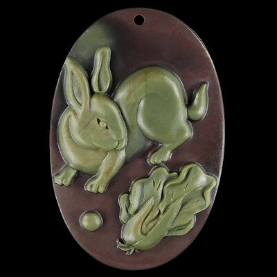 WALYCORP Carved Rabbit Bead DK501008