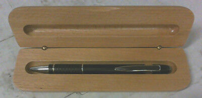 NEW Engravable Metal Pen with Solid Maple Wood Luxury Gift Box $39.99