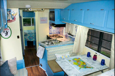 RENOVATED Ford Travel Master Sleeps 6 RV Motorhome IMMACULATE & DRY! No Reserve