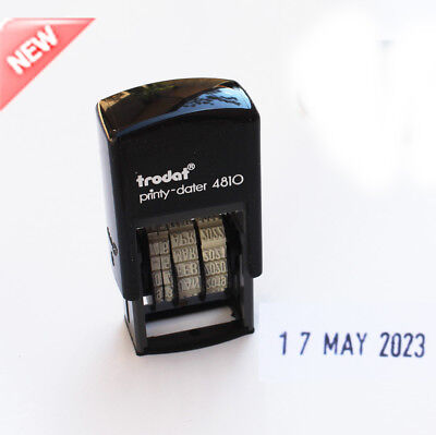 Date stamp TRODAT 4810 Compact Self-Inking Printy Dater School Office Business