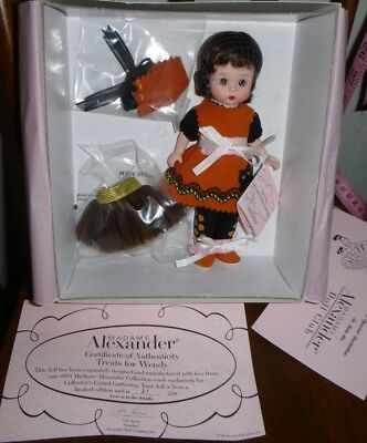 "Madame Alexander Treats for Wendy 8"" Doll 39250 21/250 for Collector's Gathering"