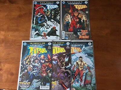 DC Rebirth Titans #12-16 NM/MT