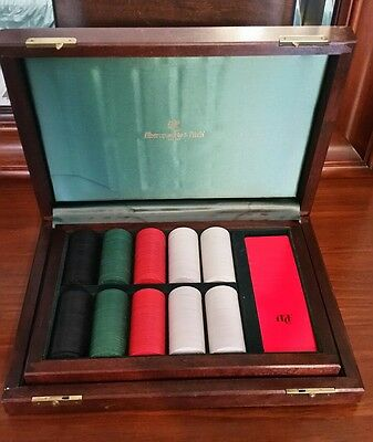 Abercrombie & Fitch Poker Chip Gaming Boxed Set