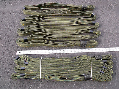 16' 22 Ton Army Tow Strap Adjustable to 32' 11 Ton Towing Truck Tractor Farm 4x4