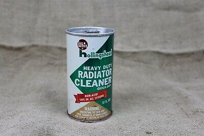 vintage WHIZ RADIATOR CLEANER Full un-opened Oil Can 12oz