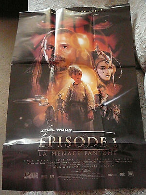 STAR WARS THE PHANTOM MENACE PIN UP POSTER PHOTO AFFICHE 21 x 32 CLIPPING