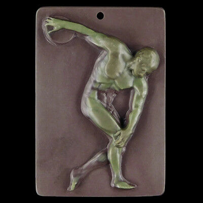 walycorp Carved Discus Thrower Bead DK512000