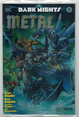 Dark Nights: Metal #2 Nycc Silver Foil Exclusive Variant Cover Set - Dc/2017