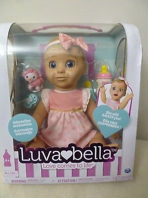 (NEW!) Luvabella - Blonde Hair - Responsive Baby Doll with Realistic Expressions