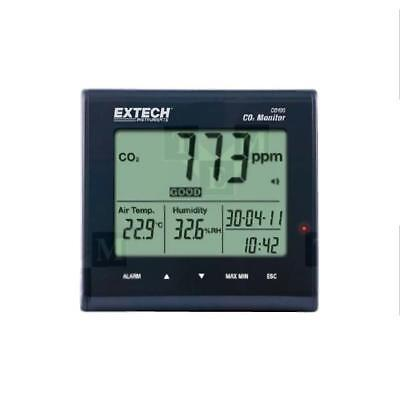 CO100 CO2 monitor Range0÷9999ppm  CO2 -10÷60°C EXTECH