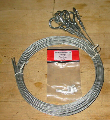 Seven Safety Cables 116 Inches