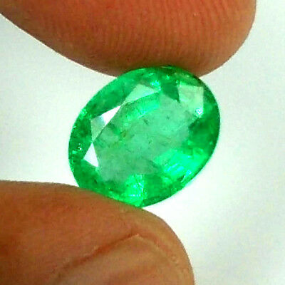 2.78Ct Natural Emerald Oval ~ Super Fire Aaa Exclusive     ^^rare Vivid Green^^