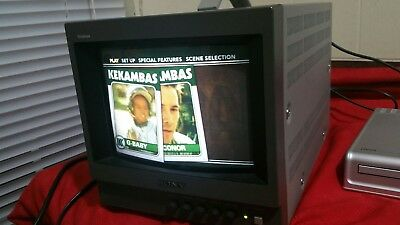 Sony PVM-8040 Color Video Monitor EXCELLENT CONDITION  - FREE SHIPPING
