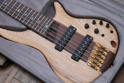 """Ibanez Premium SR1306 6 String Electric Bass Guitar RRP $2699  """"AS NEW"""""""