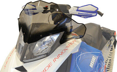 Powermadd 13412 Windshield 12in. Tint with Black Fade
