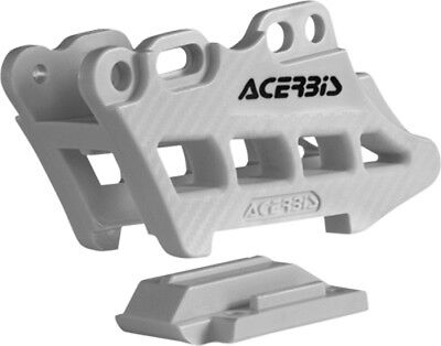 Acerbis 2410990002 Chain Guide Block 2.0 White