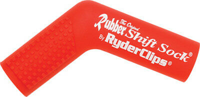 Ryder Clips RSS-RED Rubber Shift Sock Red