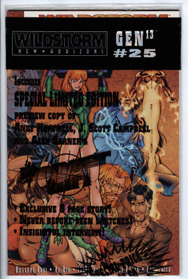 "Gen 13 (1995 Series) #25 ""Bagged with Danger Girl Preview"" Dec 1997..."