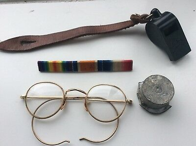 home guard small collection of items
