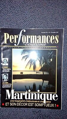 magazine Performances tourisme Martinique